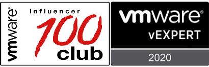 VirtualG VMware vExpert and Top 100 Influencer